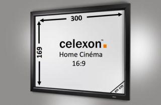 Cadre Mural Home Cinema celexon 300 x 169 cm