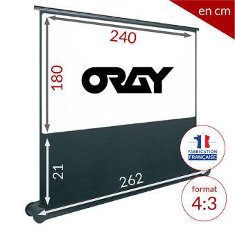 ÉCRAN ORAY - BUTTERFLY 180x240 - BUT021180240