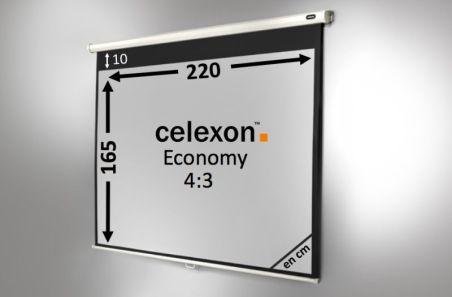 Ecran de projection celexon Manuel  Economy 220 x 165