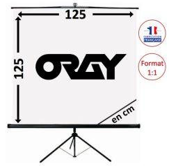 ECRAN ORAY - SCREEN 125x125 - TRE03B1125125
