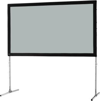 Ecran de projection sur cadre celexon « Mobil Expert » 305 x 172 cm, projection par l, arrière