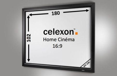 Cadre Mural Home Cinema celexon 180 x 102 cm