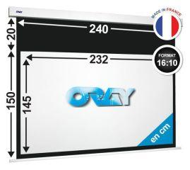 ÉCRAN ORAY - SQUARE HC 150x240 + EXTRA-DROP 20 CM - SQ2B4145232