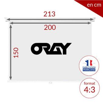 ÉCRAN ORAY - ORAY 2000 PRO 150X200 - MPP03B1150200