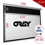 ÉCRAN ORAY - SUPER GEAR HC 112X180 + EXTRA-DROP 20 CM - MPP09B1112180
