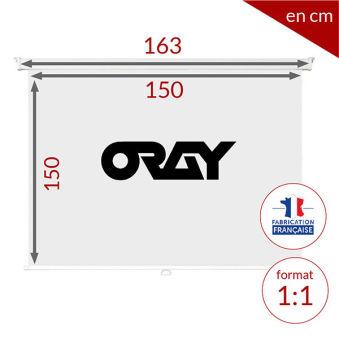 ÉCRAN ORAY - ORAY 2000 PRO 150X150 - MPP03B1150150