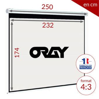 ÉCRAN ORAY - SUPER GEAR HC 180X240 - MPP09B1180240