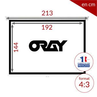 ÉCRAN ORAY - ORAY 2000 HC 150X200 - MPP02B1150200