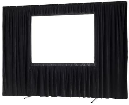 Kit de rideau 4 pièces pour les écrans celexon Mobile Expert 366 x 274 cm