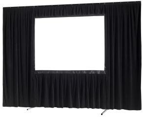 Kit de rideau 4 pièces pour les écrans celexon Mobile Expert 406 x 228 cm