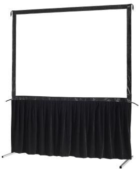 Kit de rideau 1 pièce pour les écrans celexon Mobile Expert 203 x 152 cm