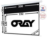 ÉCRAN ORAY - HCM4 125X200 + EXTRA-DROP 20CM - HCM4SB1125200