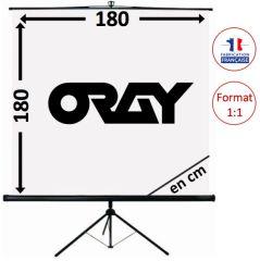 ECRAN ORAY - BYRON 2 - 180X180 - TRE02B1180180