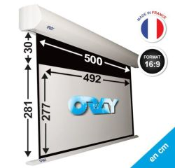 ÉCRAN ORAY - ORION HC 281x500 + EXTRA-DROP 30 CM  - OR2B5277492