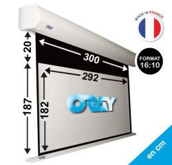 ÉCRAN ORAY - ORION HC 187X300 + ETRA-DROP 20CM - OR2B5182292