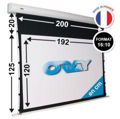 ÉCRAN ORAY - ORION TENSIONNÉ 125x200 + EXTRA-DROP 20CM - OR3B5120192