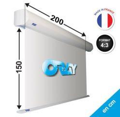 ÉCRAN ORAY - ORION PRO 150X200 - OR1B1150200