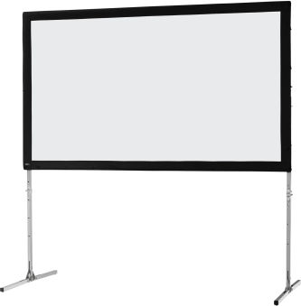 Ecran de projection sur cadre celexon « Mobil Expert » 244 x 137 cm, projection de face