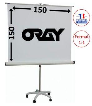 ECRAN ORAY - STYLE PIED ETOILE - 150X150 - PIE06B1150150