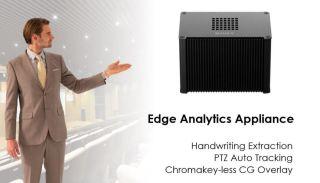 Edge Analytics Chroma key-less