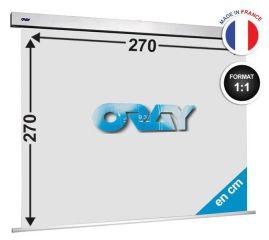 ÉCRAN ORAY - SQUARE PRO 270X270 - SQ1B1270270