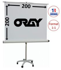 ECRAN ORAY - STYLE PIED ETOILE - 200X200 - PIE06B1200200