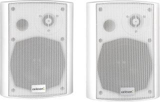 Haut-parleurs actifs celexon 525 2 voies, blanc