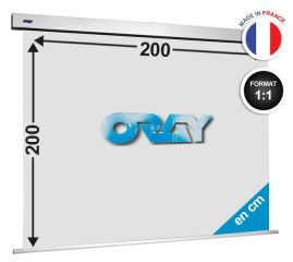 ÉCRAN ORAY - SQUARE PRO 200X200 - SQ1B1200200