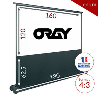 ÉCRAN ORAY - BUTTERFLY 120x160 - BUT021120160