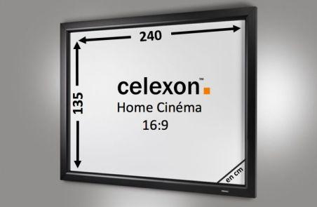 Cadre Mural Home Cinema celexon 240 x 135 cm