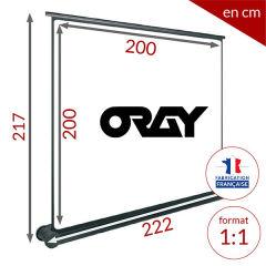 ÉCRAN ORAY - BUTTERFLY 200x200 - BUT021200200