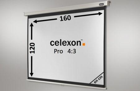 Ecran de projection celexon Manuel PRO 160 x 120 cm