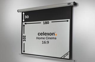 Ecran de projection celexon Motorisé Home Cinema 180 x 102 cm