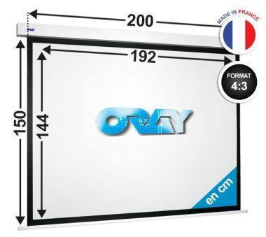 ÉCRAN ORAY - SQUARE HC 150x200  - SQ2B4144192