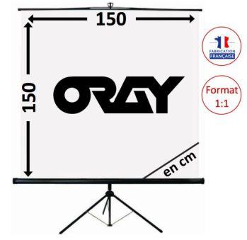 ECRAN ORAY - SCREEN 150x150 - TRE03B1150150