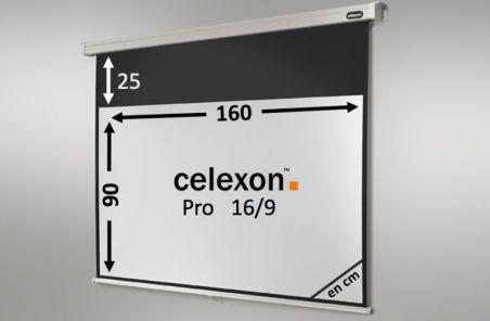 Ecran de projection celexon Manuel PRO 160 x 90 cm