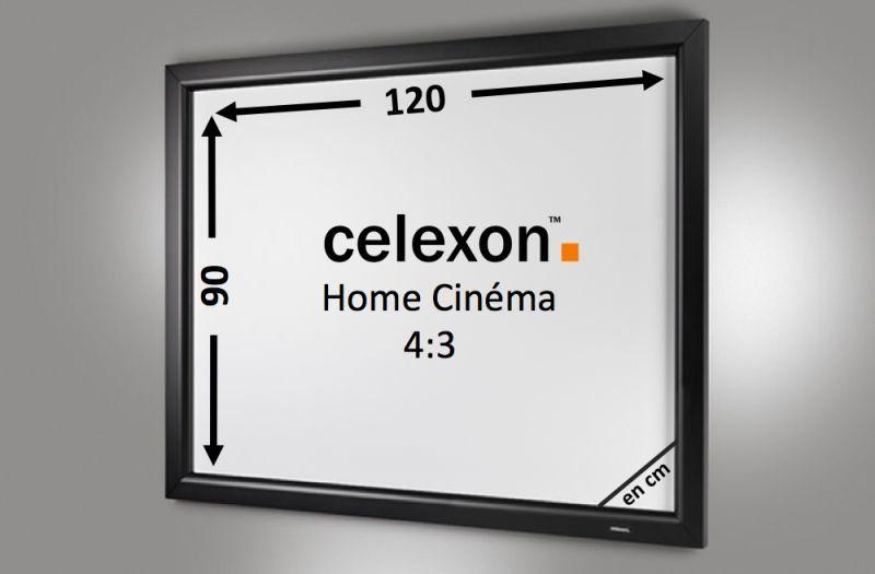 Cadre mural home cinema celexon 120 x 90 cm achat vente - Cadre 80 x 120 ...