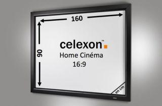 Cadre Mural Home Cinema celexon 160 x 90 cm