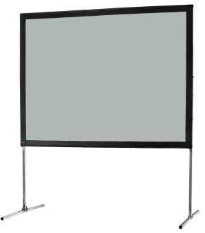 Ecran de projection sur cadre celexon « Mobil Expert » 203 x 152 cm, projection par l'arrière