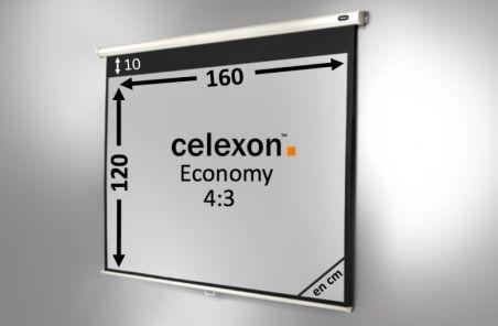 Ecran de projection celexon Manuel  Economy 160 x 120 cm