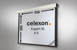 Ecran de projection celexon Motorisé Expert XL 350 x 265 cm