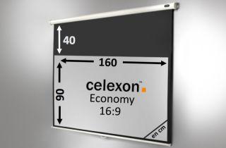 Ecran de projection celexon Manuel  Economy 160 x 90 cm