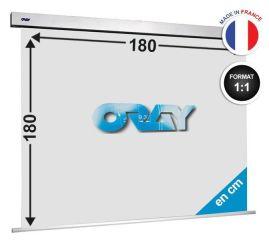 ÉCRAN ORAY - SQUARE PRO 180X180 - SQ1B1180180