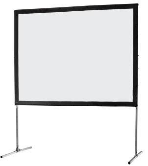 Ecran de projection sur cadre celexon « Mobil Expert » 406 x 305 cm, projection de face