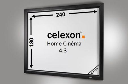 Cadre Mural Home Cinema celexon 240 x 180 cm